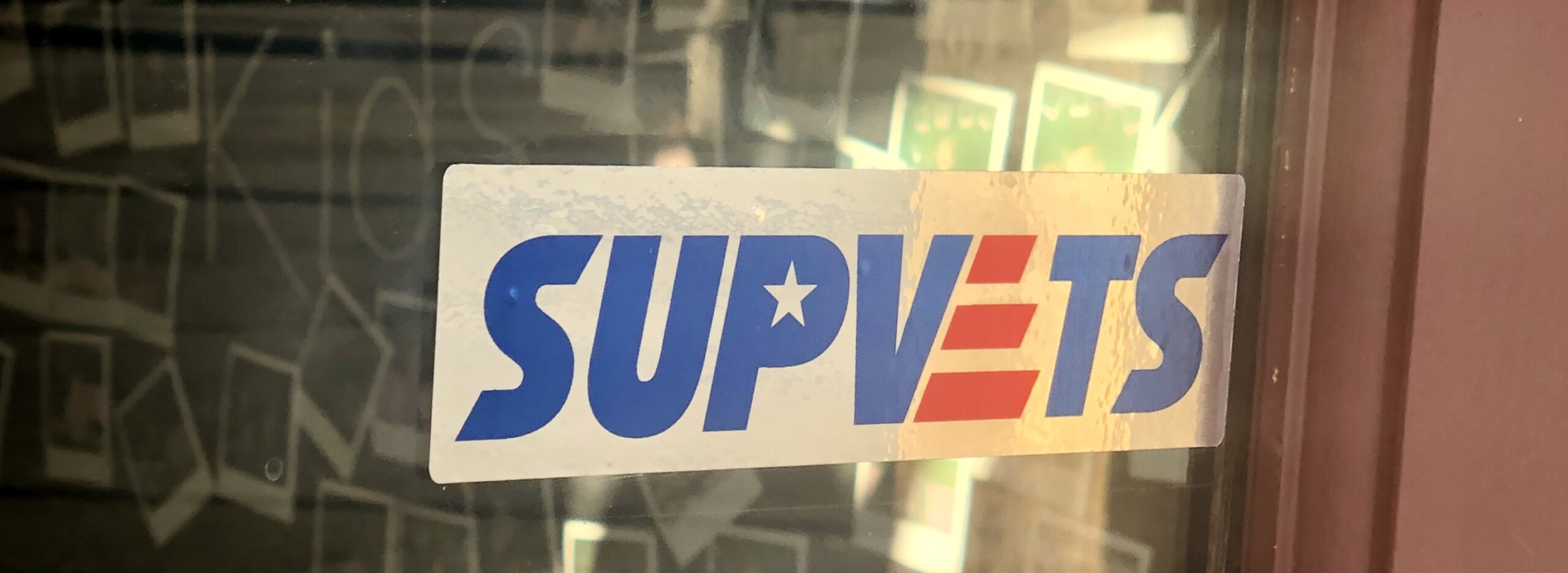 SUPVETS Business Decal