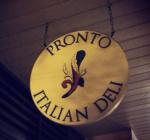 Pronto Italian Deli